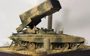 Обои игрушка, моделька, Syrian Arab Republic, TOS 0-A, Opposition