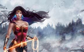 Обои Чудо-женщина, Диана, Амазонка, Wonder Woman, Diana, DC Comics