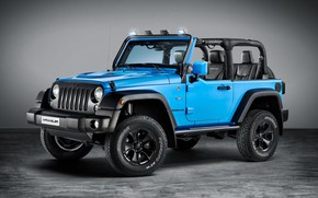 Обои Jeep, Rubicon, Wrangler