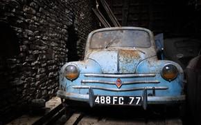 Обои лом, Renault 4CV, машина