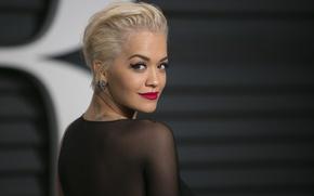 Картинка girl, woman, face, singer, blonde, Rita Ora, Rita Sahatçiu Ora