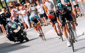 Картинка Chris Froome, Крис Фрум, cycling stage race, Critérium du Dauphiné, Richie Porte, Ричи Порт, велоспорт, …