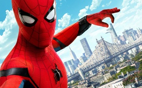 Обои yuusha, spider, uniform, boy, Justice League, Tom Holland, Columbia Pictures, seifuku, Spider-Man Homecoming, Spiderman, cinema, ...