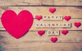 Картинка Сердечки, Фон, Буквы, Праздник, День святого Валентина, День влюбленных