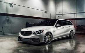 Обои Mercedes-Benz, E-Class, мерседес, AMG, универсал, S212