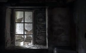 Картинка окно, свет, комната