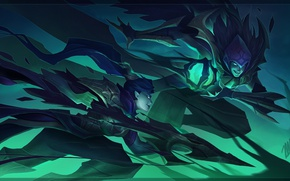 Картинка league of legends, Riot Games, vayne, Night Hunter, vladimir, crimson reaper