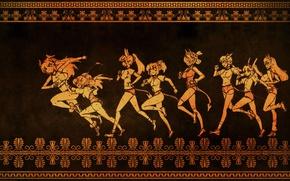 Картинка style, anime, anime girls, greek, Rage Of Bahamut: Genesis, Bahamut