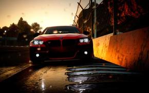 Картинка car, bmw, red, game, corrida