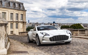 Обои england, one 77, Aston Martin, white