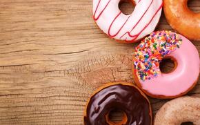 Картинка пончики, глазурь, donuts