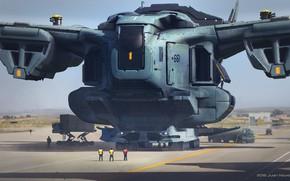 Картинка летательный аппарат, neo hercules vf-151, por-salir