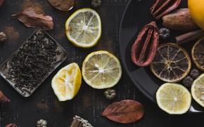 Картинка Лимон, Чай, Цитрус
