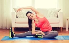 Обои leggings, health, exercises, yoga, activewear, beauty, fitness, pilates, workout, crossfit