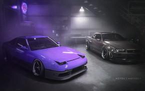 Картинка Nissan, Photoshop, 240sx, Skylilne, Need For Speed Payback