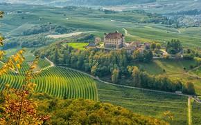 Картинка замок, Италия, Trentino-Alto Adige, Ital, Castel Thun, Ton