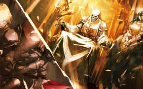 Картинка аниме, Overlord, Владыка, персонажи