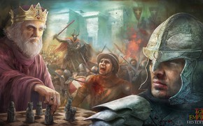 Обои horn, game, Age of Impires, Age of Impires II, Age of Impires II HD Edition, ...