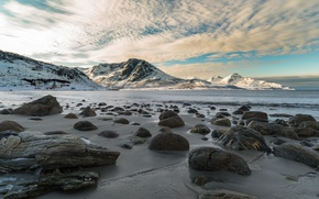 Картинка море, камни, побережье, Норвегия, Norway