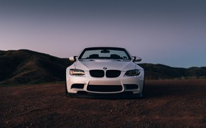 Картинка BMW, Front, White, E92, Sight, LED