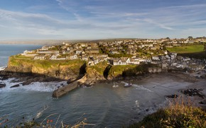 Обои United Kingdom, Port Isaac, England