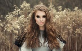 Картинка портрет, макияж, губы, Joanna Latańska
