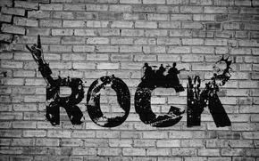 Картинка rock, word, Punk Rock