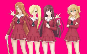 Картинка game, anime, asian, manga, japanese, oriental, asiatic, seifuku, by ho4hoj, Re Kan, Re-Kan!, Re Kan!, …