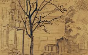 Картинка 1923, Morning Light, Charles Ephraim Burchfield
