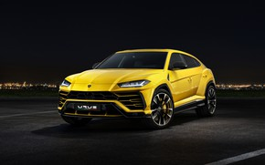 Обои 2018, Urus, Lamborghini, вид спереди