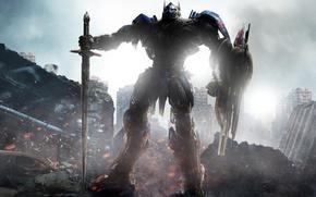 Обои steel, strong, fire, robot, shield, boss, blade, iron, alien, mecha, cinema, film, armor, knight, ken, ...