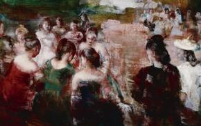 Картинка люди, картина, Grigory Gluckmann, Григорий Глюкман, Круг Общения