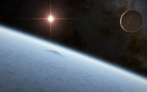 Картинка planet, sci fi, Asteroids