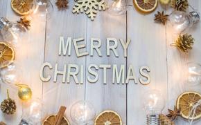 Картинка Новый Год, Рождество, merry christmas, decoration, xmas, holiday celebration