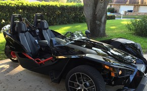 Картинка beautiful, comfort, hi-tech, Polaris, Slingshot, tecnology, sporty, tricycle, 032