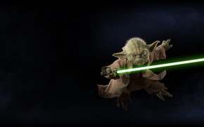 Обои Yoda, Star Wars, Star Wars: Battlefront II (2017), Battlefront II, Star Wars: Battlefront II, DICE, ...