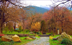 Картинка Весна, Деревья, Парк, Nature, Park, Spring, Trees