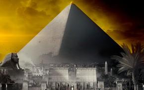 Обои Египет, Пирамида, Origins, Ubisoft, Assassin's Creed: Origins, Assassin's Creed