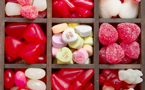 Картинка конфеты, love, heart, romantic, sweet, мармелад, candy, valentine`s day