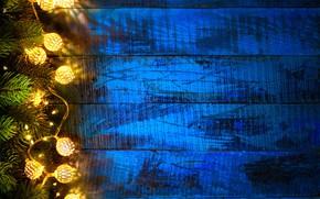 Картинка украшения, огни, елка, Новый Год, Рождество, happy, Christmas, wood, New Year, Merry Christmas, Xmas, decoration, …