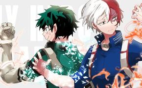 Картинка аниме, арт, Boku no Hero Academia, Моя геройская академия