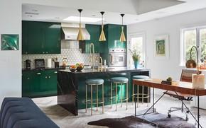 Картинка Los Angeles, interior, elegant, kitchen