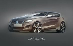 Картинка car, авто, тюнинг, BMW, арт, автомобиль, auto, tuning, Yasid Design, Yasid Oozeear