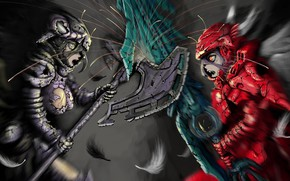 Картинка Overlord, anime, asian, manga, japanese, oriental, asiatic, powerful, strong, sugoi