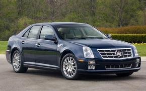 Картинка Cadillac, седан, STS