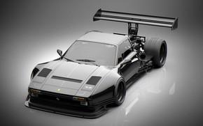 Картинка дизайн, отражение, автомобиль, Pikes Peak 308 Hillclimb Racer, ferrari 308