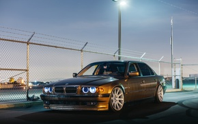 Обои car, bmw, бмв, tuning, e38, stance, 0 series, е38