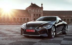 Картинка car, Lexus, red, logo, beauty, Lexus LC 500, Lexus LC 500h