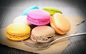 Картинка печенье, разноцветные, sweets, cookies, macaron, макарун