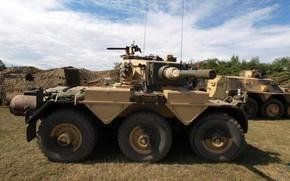 Картинка military, weapon, armored, cannon, armored vehicle, British army, FV601 Saladin, Alvis Saladin, FV 601 Saladin